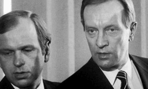 Sinipunahallitus Harri Holkeri Erkki Liikanen talous