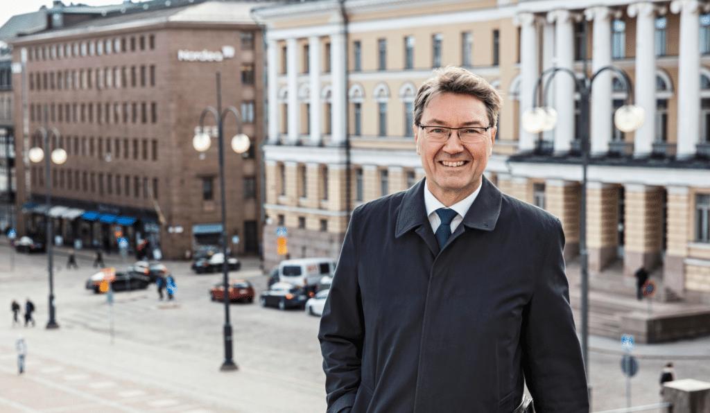 Solidium valtion omistusyhtiö toimitusjohtaja Antti Mäkinen sijoittaminen