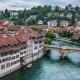 Sveitsi Bern Keski-Eurooppa joki talous
