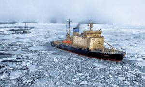 jäänmurtaja jää meri laiva talous