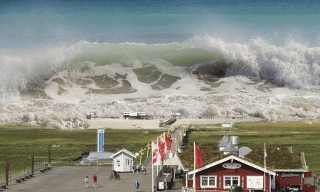 tsunami hyökyaalto finanssikriisi katastrofi romahdus talous