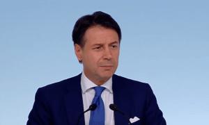 Italian pääministeri Giuseppe Conte