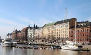 Helsinki laiva rakennukset asunnot asuminen ranta