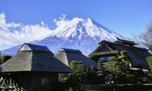 Japani vuori Fuji talous
