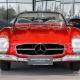 Mercedes-Benz SL300 Roadster urheiluauto autoklassikko auto