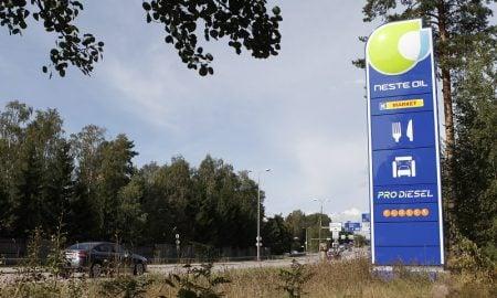 Neste uusiutuva energia huoltoasema