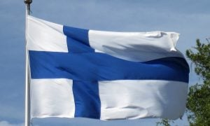 Suomi suomen lippu Finland lippu kotimainen