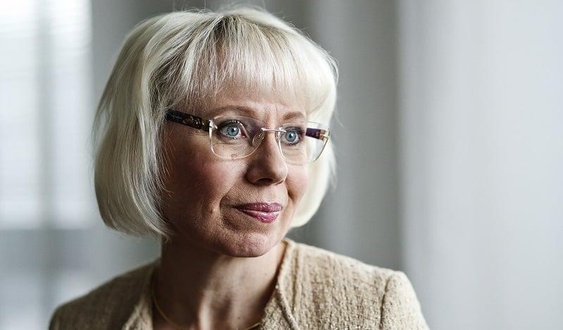 Keskuskauppakamarin varatoimitusjohtaja Leena Linnainmaa.