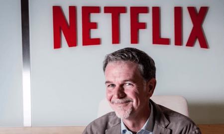 Netflix Reed Hastings suoratoistopalvelu tilausvideopalvelu