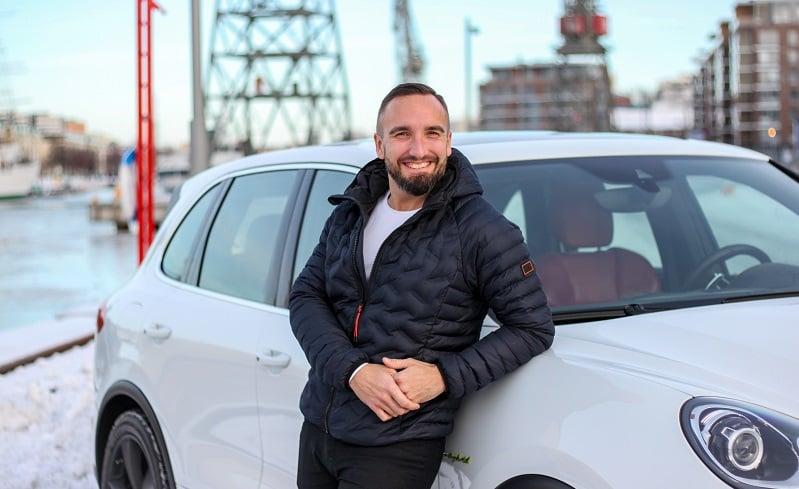 biildiil Oy toimitusjohtaja Ilari Laaksonen autoilu