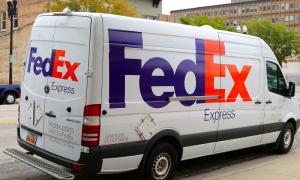 FedEx kuljetusyritys kuriiripalvelut talous