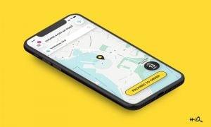 HiQ mobiilisovellus Taksini taksipalvelut talous