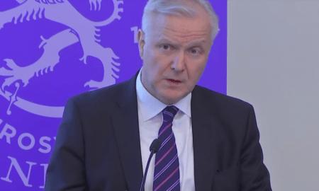Olli Rehn pääjohtaja Suomen Pankki talous
