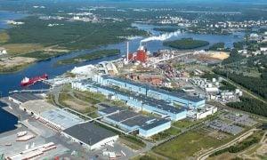 Stora Enso Oulu Nuottasaari paperitehtaat talous metsäteollisuus