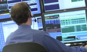 pörssi Wall Street meklari osakemarkkinat