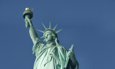 Vapaudenpatsas USA Yhdysvallat talous