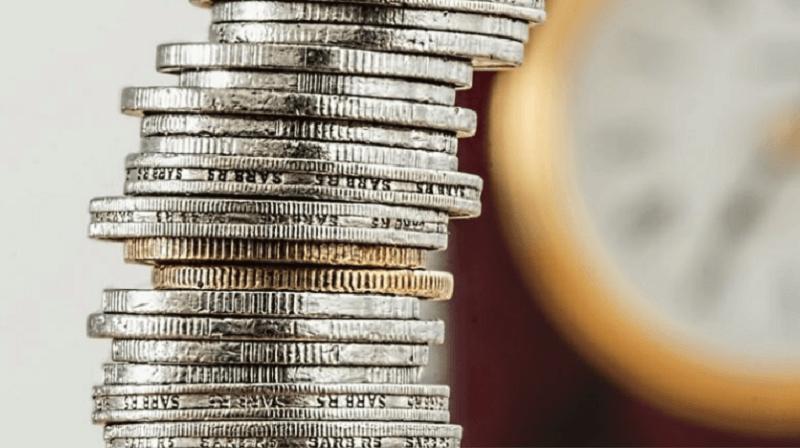raha kolikot sijoittaminen talous kolikkopino