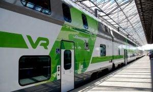 VR juna junaliikenne liikenne pendelöinti