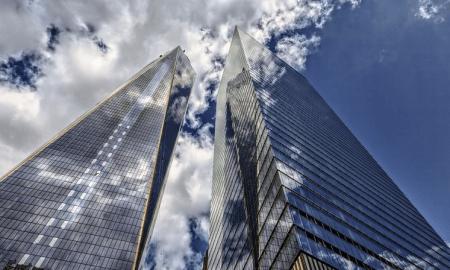 pilvenpiirtäjät New York rakennukset talous