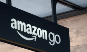 Amazon logo Nasdaq verkkokauppa kasvuyhtiö sijoittaminen osakkeet