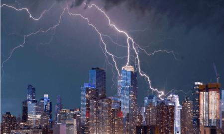 New York ukonilma ukkonen talous USA