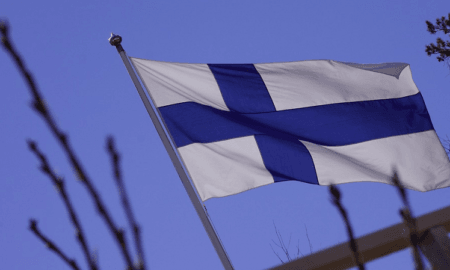 Suomi lippu kotimainen