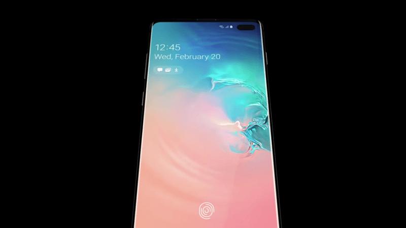 Samsung Galaxy S10 matkapuhelin teknologia