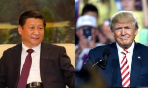 Xi Jinping Donald Trump Kiina USA kauppasota talous