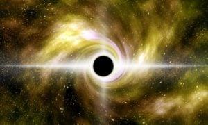 musta aukko avaruus