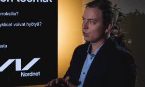 Jukka Oksaharju Nordnet sijoittaja sijoituskirjailija
