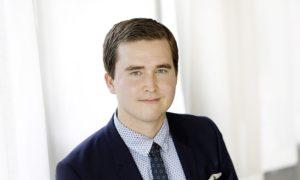 Keskuskauppakamarin lakimies Erkko Meri. Kuva: Liisa Takala.