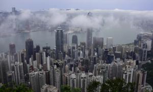 Hongkong kaupunki metropoli talous