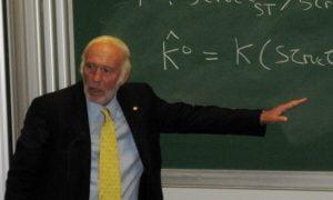 Amerikkalainen matemaatikko ja rahastojohtaja James Simons