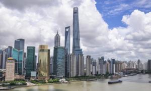 Shanghai Kiina metropoli kaupunki maailmantalous talous