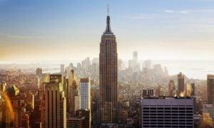 USA Empire State Building New York Yhdysvallat pilvenpiirtäjä