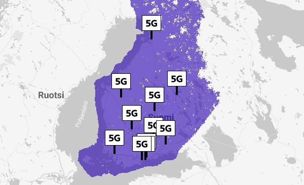 5g Verkko Kartta