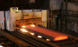 SSAB terästehdas terästuotanto