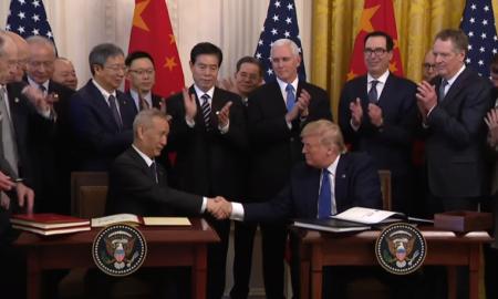 kauppasopimus Trump USA Kiina kauppasota