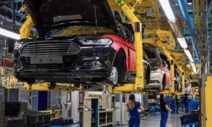 Ford autotehdas Valencia autotuotanto tuotanto