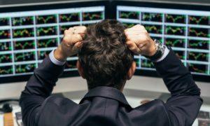 kurssiromahdus kurssilasku tappio epäonnistuminen osakkeet pörssi sijoittaminen sijoittaja meklari treidaaja