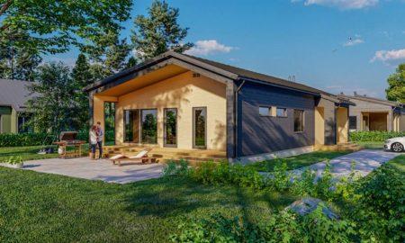 omakotitalo asunto asuminen talo asuntomarkkinat rakentaminen