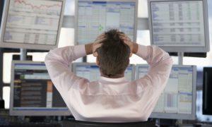 osakekauppa kurssilasku pettymys kurssiromahdus sijoittaminen pörssi osakkeet