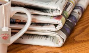 sanomalehdet kahvi media talous