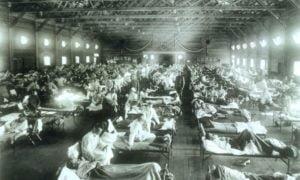 Espanjan tauti koronavirus korona sairaala
