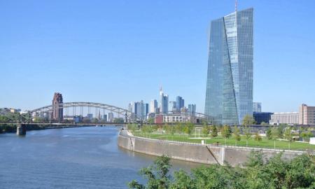 Frankfurt EKP keskuspankki talous euro