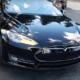 Tesla Model S 85 sähköauto autoilu