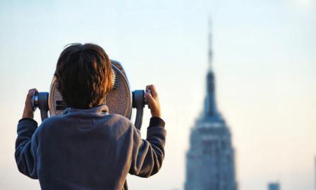kiikarit näkymät New York pilvenpiirtäjä sijoittaminen talous