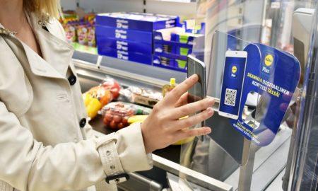 Lidl kauppaketju etuohjelma älypuhelin kauppa talous