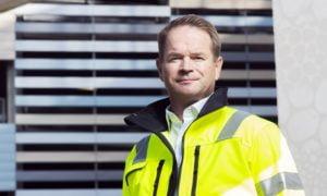 Saku Simola toimitusjohtaja SRV rakennuskonserni rakentaminen