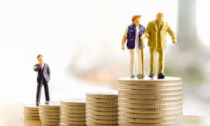 raha eläkkeet eläkejärjestelmä talous